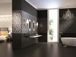 Höganäs selger fliser designet av Roberto Cavalli til kunder som ønsker seg noe ekstra.