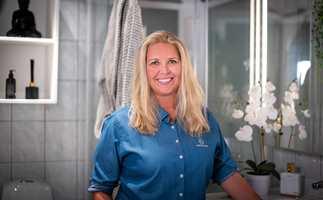 Markeds- og kommunikasjonsansvarlig Cecilie Bjørnerud Knap