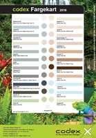 Fugemassen fra Codex er merket med ulike navn knyttet til hver farge.  Den fås kjøpt hos utvalgte interiørbutikker. – Tenk deg nøye om før du velger farge på fugene, råder Bredo Christensen hos Uzin Utz Group Norge AS.