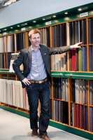 Salgssjef John Junk-Eriksen registrerer at prosjektmarkedet er på full fart oppover og at ulike typer tepper igjen er på vei inn i boligene.