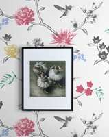 Blomstermønster hentet fra kolleksjonen Maison Babette.