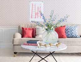 Små innslag av farge kan gi rommet ny energi.