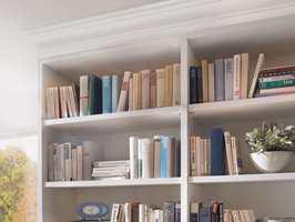Listene gjør det enkelt for deg som vil leke hobbysnekker hjemme, ved å for eksempel pynte opp en kjedelig bokhylle.