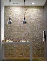 Vanlige fliser, slik som serien Front, kan brukes for å gi en illusjon av ekte sandstein.