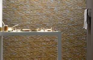 Flisene Front brukes gjerne på en fondvegg i hall og stue, men fungerer også fint på kjøkken og bad.
