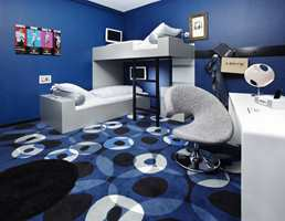 Hotel 25hours Tailored by Levi's, Frankfurt.