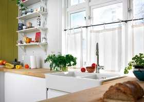 Luktproblematikk kan man oppleve både på kjøkken og bad.
