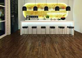 DLW lanserer nå et nytt produkt der de kombinerer linoleum og designgulv til Naturecore: Luxury Linoleum Tiles.
