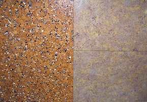 Nytt av året er at korkgulvene til Wicanders/Storeys har fått atskillig flere fargeinnslag. Preget på korkbelegget er beholdt, men fargene gir mange flere valgmuligheter.