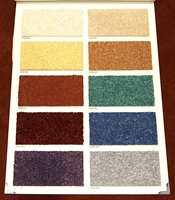 Et fargekart for gulv av idag - her hos teppeprodusenten Dan-Floor.