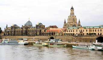Dresden ved elva Elben - en europeisk klassiker.