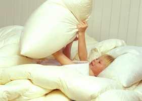 Barn sover bedre i dun.