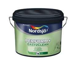 Perform+ Easy2Clean brukes til vegger innendørs, har god dekkevne og er smidig å påføre.