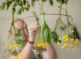 Når naturen byr opp til sommer med alle sine gulgrønne nyanser, kvikner vi til og humøret stiger. Disse freidige fargene gjør oss godt, så hvorfor ikke ta med en liten dose inn?