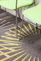 Egetepper kan tilby teppeløsninger som går glimrende sammen med alle varianter av moderne, dansk kontormøbeldesign.