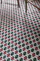 Mønster på gulv var vanlig for 200 år siden.