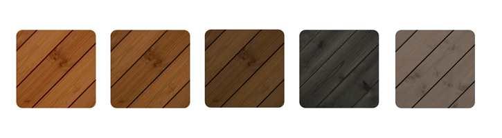 FERDIGE FARGER: Oljen, som er en del av Beckers' Elit-serie med treoljer for utendørs bruk, finnes i de klassiske fargene som svart, brun og grå, men kan i tillegg brytes i flere mørke nyanser. Siden oljen har en mørk egenfarge, er paletten dempet.
