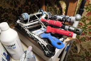 Verktøyet bør også rengjøres godt så det kan brukes flere ganger.