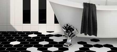 De fleste har keramiske fliser som førstevalg når badet skal pusses opp. Valgmulighetene er større enn noen gang.