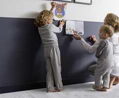 <b>FAMILIE:</b> Et hybridgulv forener de beste egenskapene fra ulike gulvmaterialer i ett og samme produkt.