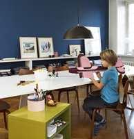 Hele familien kan pleie interessene sine i inspirerende omgivelser.