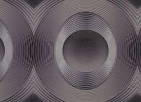 Tredimensjonale mønstre gir en spennende effekt - disse tapetene er intet unntak.