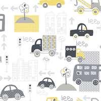 Biler kan fungere utenfor barnerommet - her fra kolleksjonen Just4Kids, Fantasi Interiør.