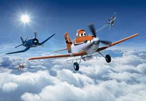 Planes fra Disney er en ny fototapet-serie fra Fantasi Interiør.