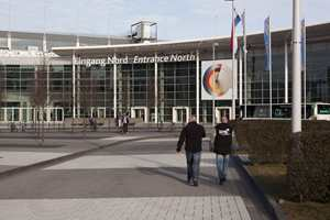 Messesenteret i Köln er overveldende, og bare en begrenset del - cirka femti tusen kvadratmeter - var avsatt til Farbe 2013.