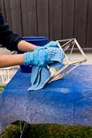 <b>VASK:</b> Alt som skal males må være rent, fast og tørt. (Foto: Chera Westman/ifi.no)