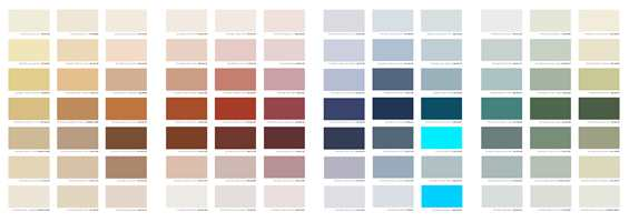 <b>FARGERIKT: </b>Fargekartet består av en palett med 84 farger: her finnes både lyse pasteller, mettede farger og mer kulørte kulører, men ingen sorte og grå farger.