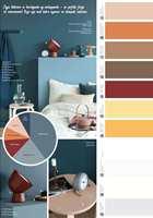 <b>JORDFARGER:</b> Fargekartet til Quick Bengalack viser de ferdigfargene som er å få på sprayboks. Kakediagrammer gjør fargekombinasjoner lett å lykkes med.
