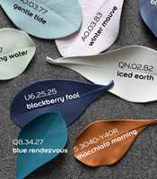 <b>TAR PLASS: </b>Fargekartet «Simply Colourful» er for dem som tør å bruke farge på veggene.