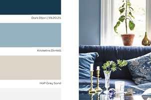 <b>INSPIRERENDE HJEM:</b> I Nordsjö sitt nye fargekart er det 22 flotte farger inndelt i tre fargepaletter.