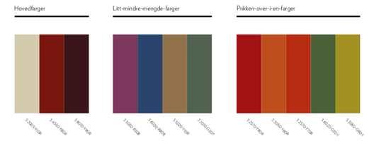 <b>DEN FRODIGE:</b> Fargene i paletten er inspirert av høsten - de er frodige og varme.
