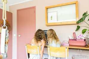 <b>DEMPET:</b> Når barna får velge, blir det fort litt farger på rommet. Men det trenger ikke å være de mest kulørsterke fargene på alle vegger. Gå gjerne for noe litt mer dempet, så det også er rom for ro.