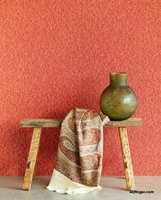 <b>LIVLIG:</b> Tapetprodusenten Ejiffinger er kjent for sine friske farger. I kolleksjonen Sundari er det mye god energi. Føres av Storeys.