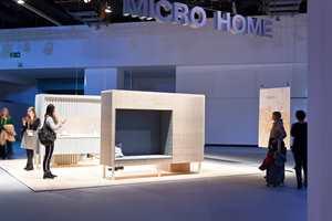 <b>MIKRO:</b> Soverom, stue, kjøkken, bad og garderobe fikk plass på noen få kvadratmeter.