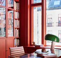 <b>HELHET:</b> Vinduet blir en del av helheten når det fargesettes som rommet.