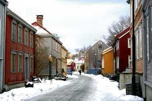 Trondheim: Tradisjon - harmoniserte jordfarger