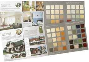 Med Eksteriør og Interiør Fargeveiledning kan du enkelt finne de rette farger for din og husets stil.