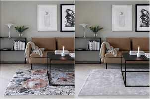 <b>MULIGHETER:</b> Mønster eller ensfarget gir to helt forskjellige uttrykk. Er du usikker så spør i butikken om du kan få låne dem med hjem og teste.
