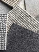 <b>ULL:</b> Tepper i deilig ull, håndvevd på tradisjonelle trevever gir mulighet for å skape vakre og rike strukturer. Teppene leveres på mål og føres av Intag.