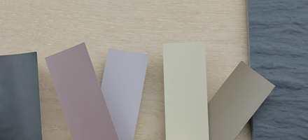 <b>GULV:</b> Lys eik og skiferaktige fliser har sine farger selv om de kan virke nøytrale. Finn derfor gulvet du liker først. Det er lettere å justere malingsfargene etter nyansene i gulvet enn omvendt.