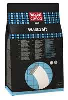 <b>NYTT DESIGN:</b> WallCraft og flere pulverprodukter har fått ny, forbedret emballasje som øker holdbarheten på produktet.