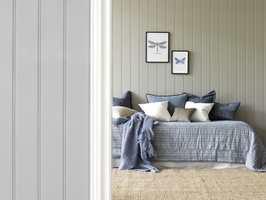 Palettene er bygd opp slik at det skal være like enkelt å bruke farger, som å velge hvitt. Foto:Smartpanel