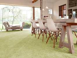 <b>RENT OG PENT:</b> Tepper er varme og behagelige, og flekkfrie er et flott teppe en fryd for øyet. (Foto: Musum Interiør)