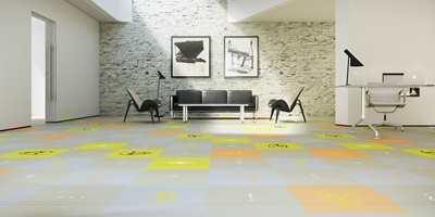 Det er enkelt å holde et teppegulv rent. En god støvsuger gjør jobben raskt.  Foto: Forbo Flooring/Fletco