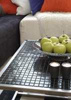 Ikke brukt fliser i marmor eller kalkstøv. Disse er for porøse og vil kunne bli misfargede.