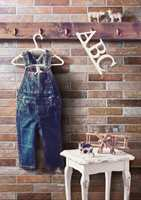 Teglimitasjoner blir stadig mer populært. Golvabias serie Epok kan brukes både på gulv og vegg og kan legges i teglforband eller fiskebeinsmønster.